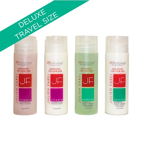 JULIEN FAREL DELUXE TRAVEL GIFT SET