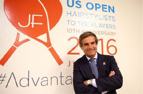 julien farel us open logo